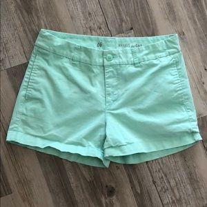 Teal Gap Shorts: Size 6